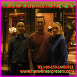 Jason Yang Shenzhen Interpreter with Canadian Clients Gerry and Ivan