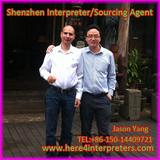 English Interpreter Jason with Honduras Client Juan