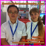 Freelance Shenzhen Interpreter Translator Jason Yang with Russian Partner Maria