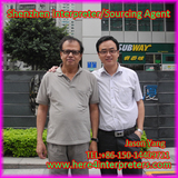 Freelance Interpreter Translator Jason With Indian Client Mr. Chandran