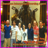 Chinese English Interpreter Jason and Maria in Shenzhen, China with Swedish Film Team