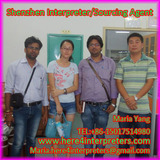 Freelance Shenzhen,Guangzhou Interpreter Maria accompany her Indian Client Nikhil  & Yogesh to visit
